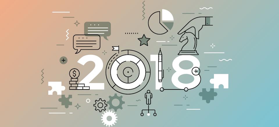 Trend 2018 nel Web design: scopriamoli assieme