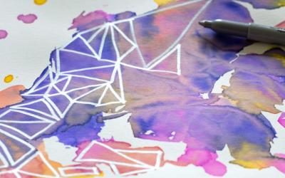 Pattern Watercolor: un nuovo trend vincente per il tuo sito